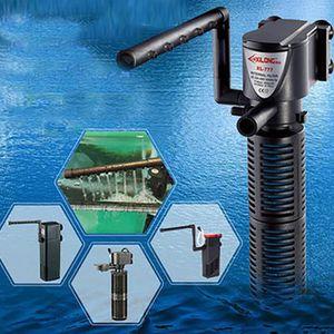 FILTRATION - POMPE 3 dans 1 pompe à eau submersible interne d'oxygène