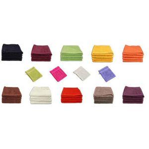 Betz Lot de 4 serviettes de toilette 50 x 100 cm 100 /% coton SCOTLAND  couleur r
