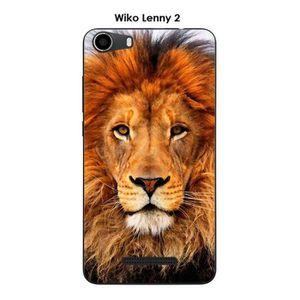 Coque wiko lenny 2 lion