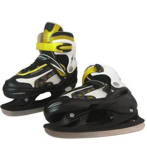 PATIN À GLACE Patins à Glace Hockey Pointure 30- 33 Protège-Lame