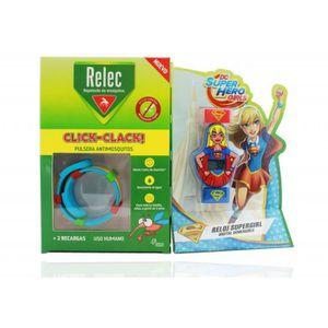 MONTRE Relec Pulsera Antimosquitos + Regalo Reloj Supergi