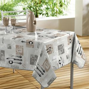 nappe toile ciree rectangle achat vente nappe toile ciree rectangle pas cher cdiscount. Black Bedroom Furniture Sets. Home Design Ideas