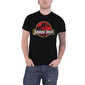 T-SHIRT Jurassic Park T Shirt Classic Movie Logo nouveau o