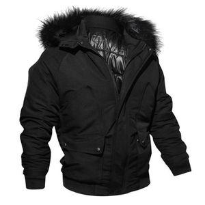 PARKA Boutique Hugo-Militaire Manteau Homme Hiver Chaud