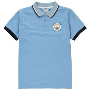 MAILLOT DE FOOTBALL SOURCE LAB Polo football Manchester City FC - garç