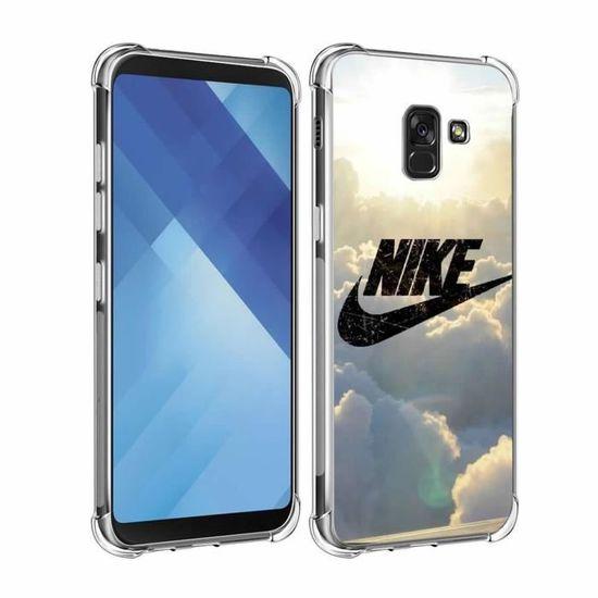 Coque Pour Samsung Galaxy A8 2018 - A5 2018 A530 Sky Nike Design ...