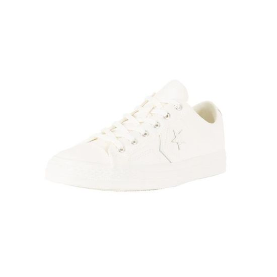 Converse Homme Star Player OX Trainers, Blanc Blanc Blanc - Achat / Vente basket