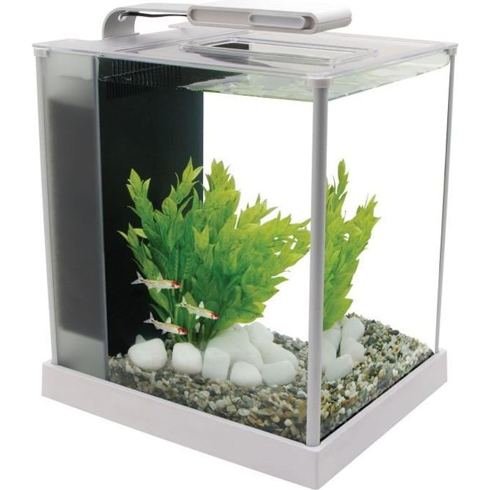 spec fluval aquarium 10 l blanc achat vente aquarium aquarium spec iii 10 l blanc cdiscount. Black Bedroom Furniture Sets. Home Design Ideas