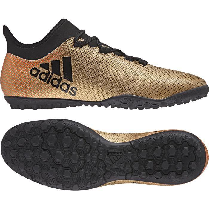 Chaussures de football adidas X Tango 18.3 Turf - gris/noir/rouge solaire - 42 2/3