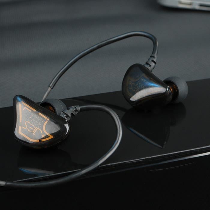 X62 huit unités anneau de fer Casque téléphone filaire Subwoofer avec micro pour Samsung gh7285
