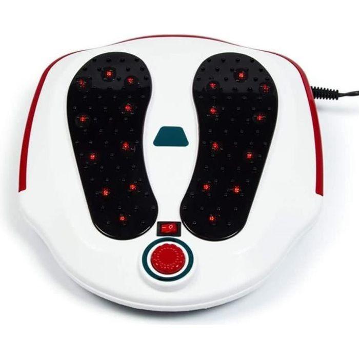 Appareil Massage Pied pour Jambe et Appareil de Traitement de Relaxation Machine pour Le Corps-Blanc