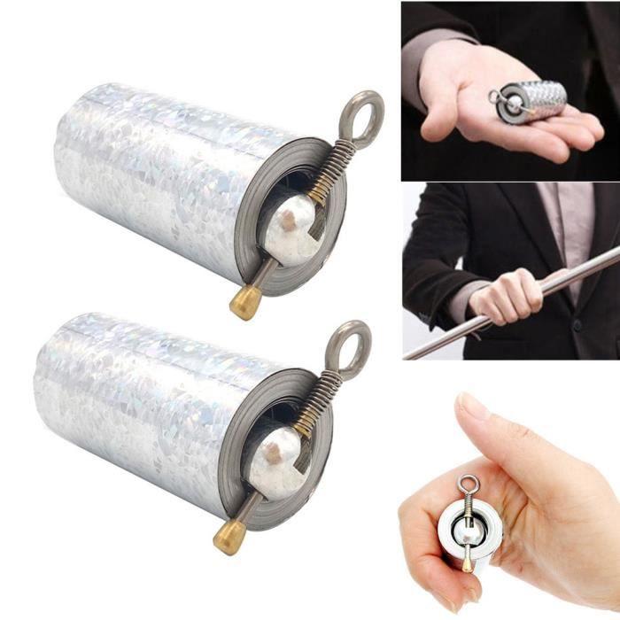 2pcs extérieur Portable Arts martiaux Métal magique Pocket Bo du comportement professionnel des Prop Miaienu 1040