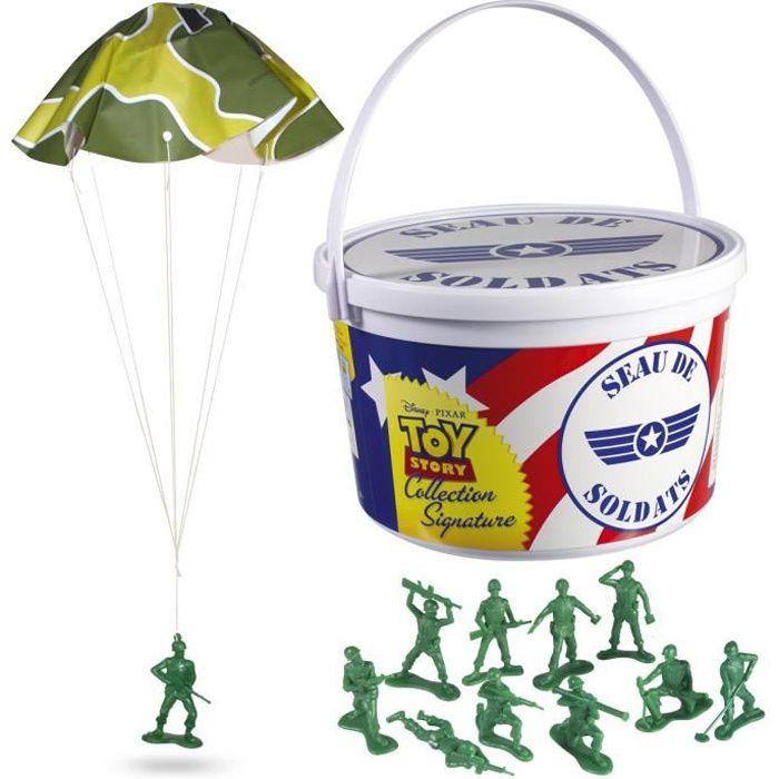 TOY STORY Seau de 72 figurines soldats