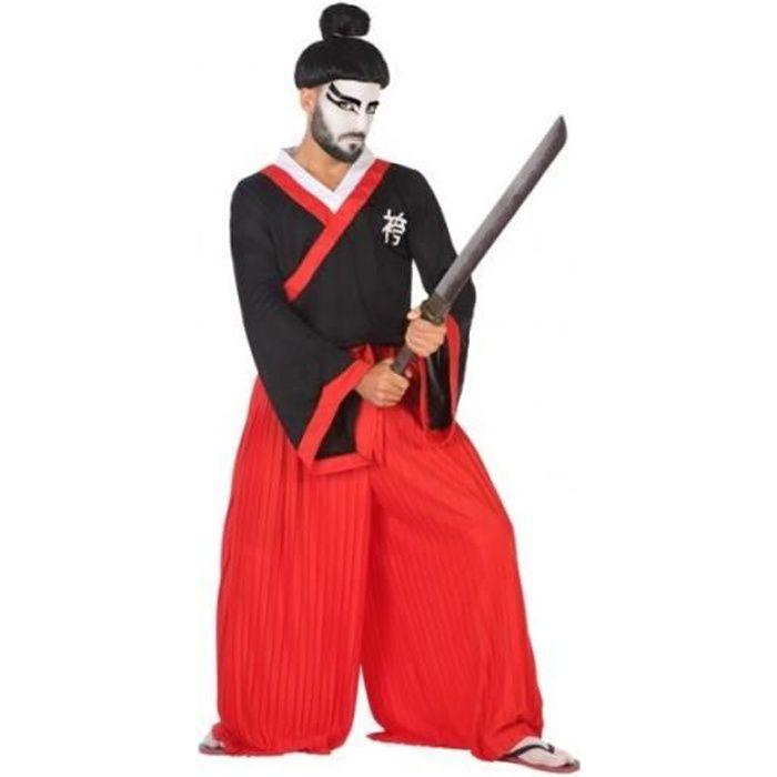 Déguisement Homme Samourai Japonais