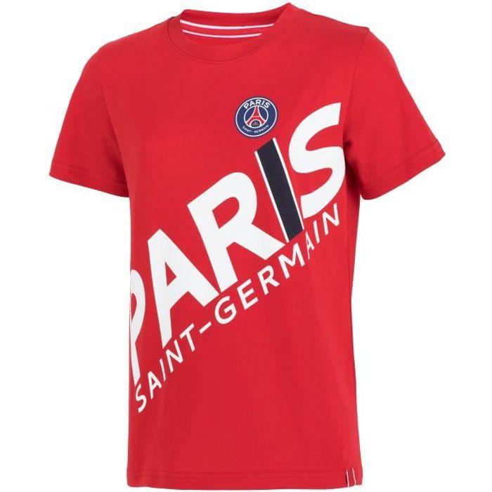 T-shirt PSG - Collection officielle PARIS SAINT GERMAIN - Enfant Garçon
