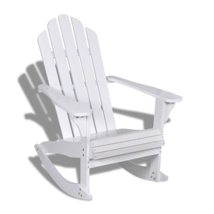 Fauteuil à bascule bois chaise relaxation Fauteuil gamer Fauteuil Scandinave Fauteuil de jardin Fauteuil relax