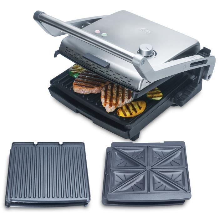 Solis Grill & More & Plaques croque monsieur - 7952 - Grill électrique