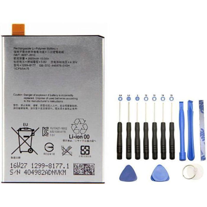 Batterie L1-1-CP5-54-75 pour Sony Xperia L1 + Kit outils 13 pièces
