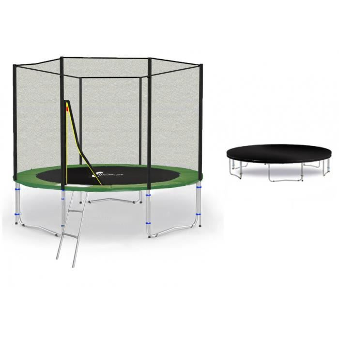 ls t245 pa8 g trampoline de jardin 245cm achat vente trampoline ls t245 pa8 g trampoline. Black Bedroom Furniture Sets. Home Design Ideas