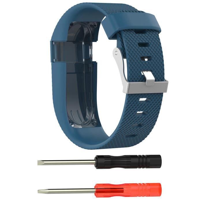 BRACELET MONTRE CONNEC. Petit remplacement de bande en silicone Bracelet B