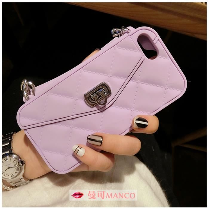 coque iphone 6s avec fente de tresorerie joint sac