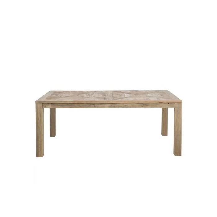 Table a manger rectangulaire missouri 200 cm bois achat for Table a manger rectangulaire