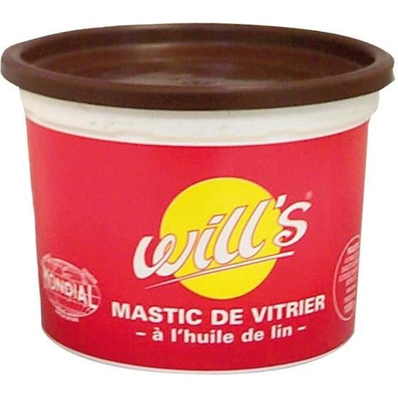 mastic mondial brun 500g achat vente peinture vernis. Black Bedroom Furniture Sets. Home Design Ideas