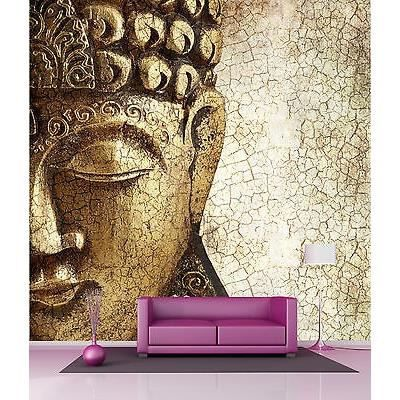 papier peint g ant d coration murale bouddha zen r f 4531 dimensions 160x160cm achat vente. Black Bedroom Furniture Sets. Home Design Ideas