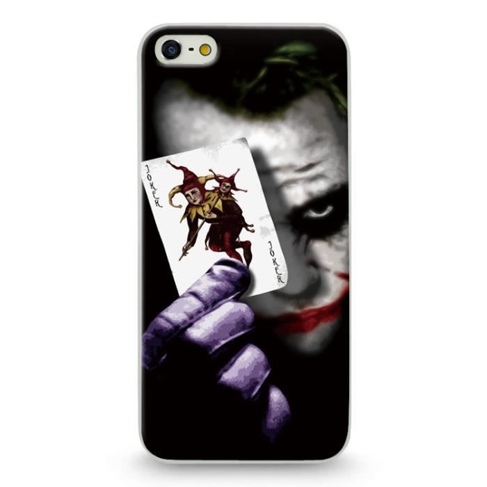 Coque Iphone 7 Iphone 8 Joker Carte Bd Comics Cart