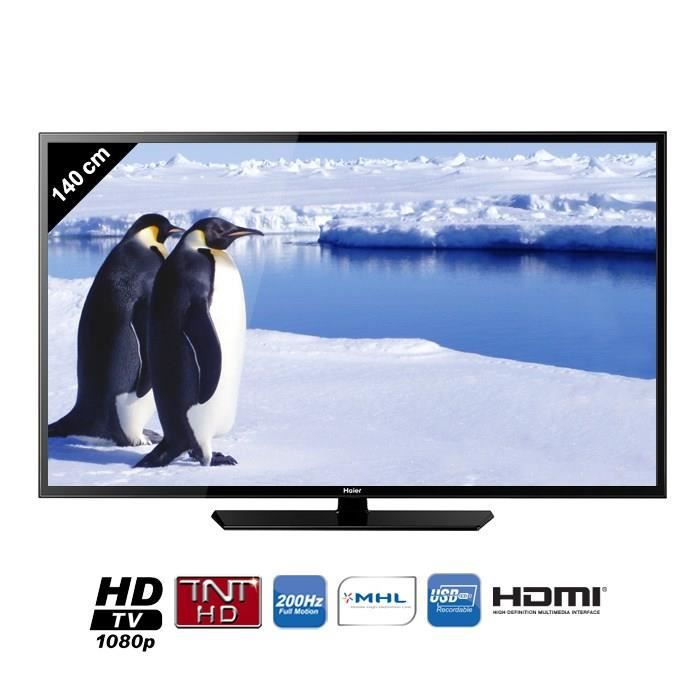 haier le55m600cf tv led full hd 140 cm t l viseur led avis et prix pas cher cdiscount. Black Bedroom Furniture Sets. Home Design Ideas