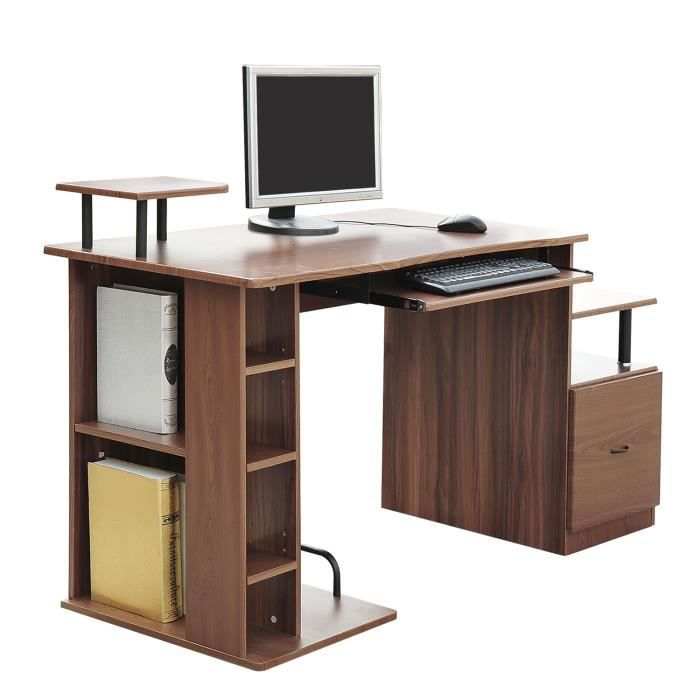 bureau pour ordinateur table meuble pc informatiqu achat vente meuble informatique bureau. Black Bedroom Furniture Sets. Home Design Ideas