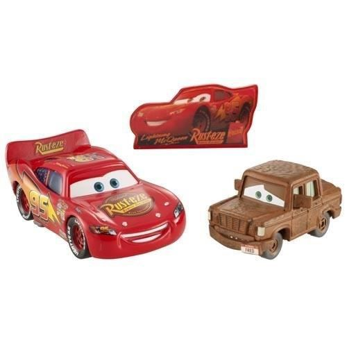 cars 2 v hicules flash mcqueen et fred achat vente. Black Bedroom Furniture Sets. Home Design Ideas
