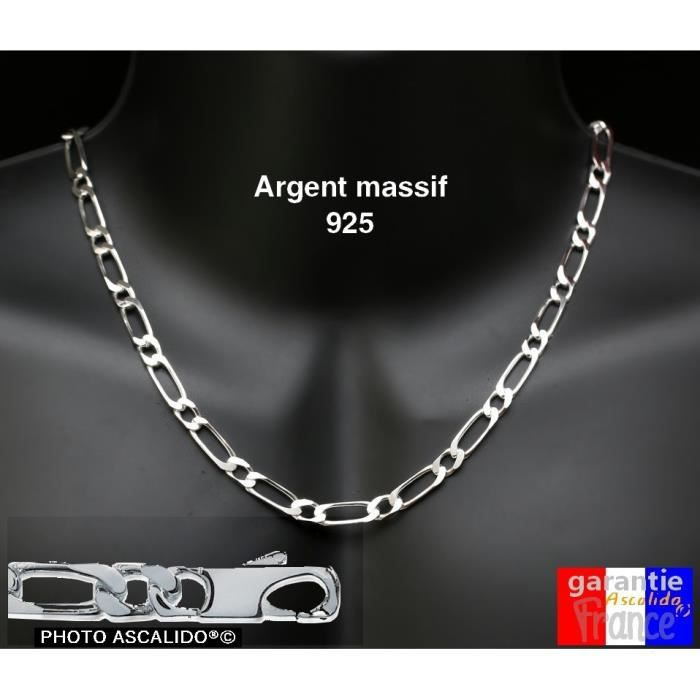 collier homme gros maillon