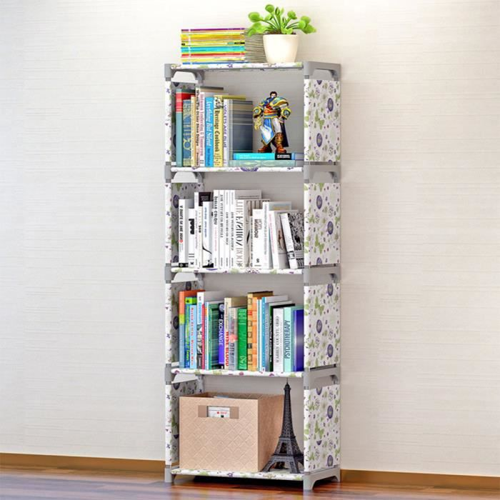 etagere de rangement diy pour enfant bibliotheque etagere a livres blamc