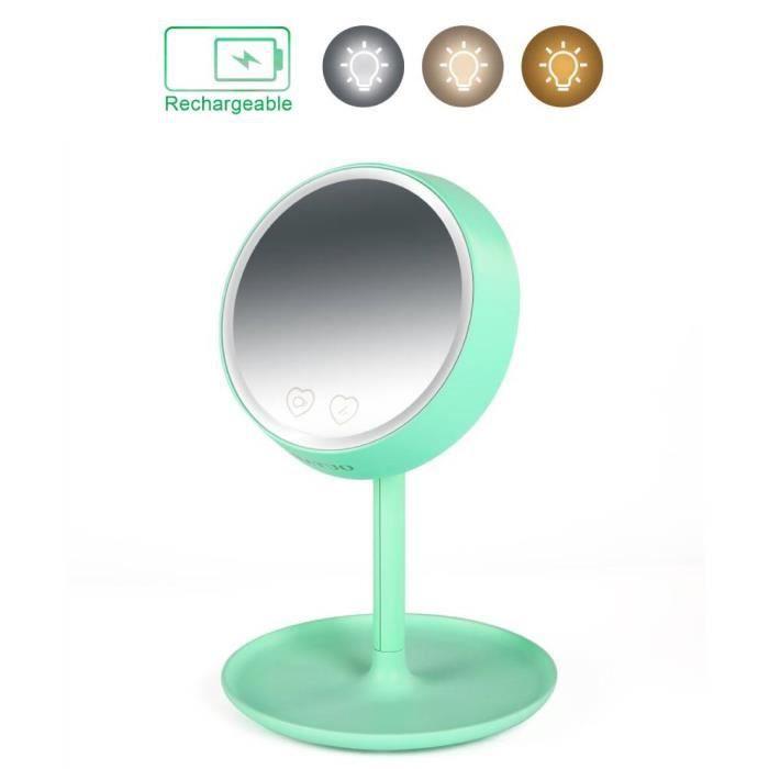 Maison Fut/ée Miroir sur pied double face /à LED