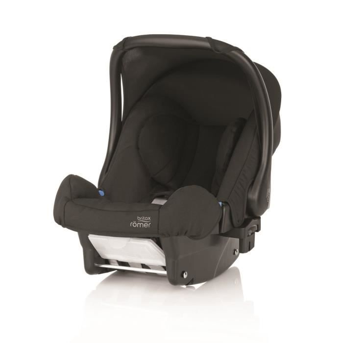 britax romer si ge auto baby safe plus noir groupe 0. Black Bedroom Furniture Sets. Home Design Ideas