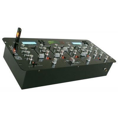 TABLE DE MIXAGE Table de mixage 4 canaux avec USB/MP3