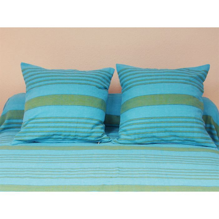housse de coussin 40x40 cm olympe turquoise achat. Black Bedroom Furniture Sets. Home Design Ideas