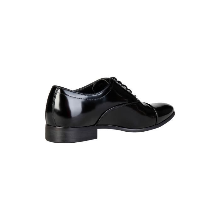 Duca di Morrone - Chaussures richelieu William - Noir vernis P,44