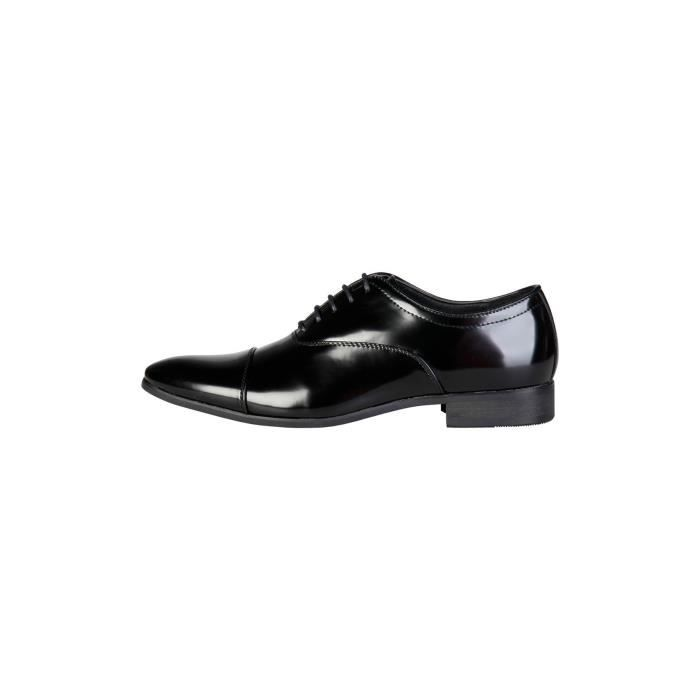 Duca di Morrone - Chaussures richelieu William - Noir vernis P,40