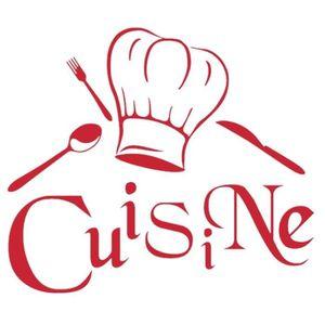STICKERS Rouge Créative Stickers muraux  pour Cuisine Décor