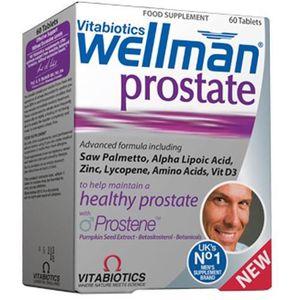 DÉFENSE IMMUNITAIRE  Vitabiotic Wellman Prostate 30 Tabs