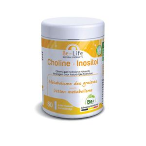 CHOLESTÉROL - TENSION BE LIFE CHOLINE INOSITOL 60 GELULES