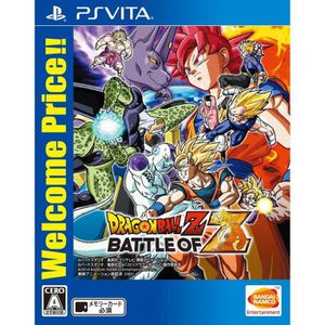 JEU PS VITA Dragon Ball Z Battle of Z Welcome Price !! PS Vita