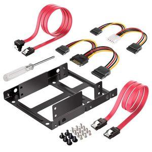 PACK COMPOSANT Kits de Cadre de Montage pour 2 Disques Durs Inter