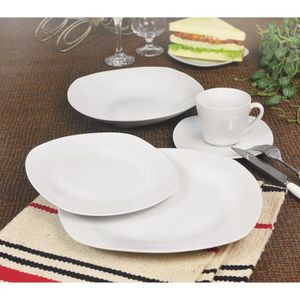 SERVICE COMPLET T1003048-30X Service de table - 30 pcs - Porcelain