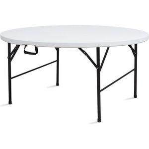 Table de jardin pliante ronde - Achat / Vente Table de ...