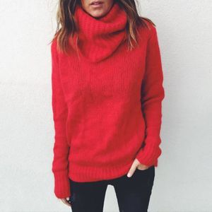 5f3514a18765c Pull rouge femme - Achat   Vente Pull rouge Femme pas cher - Soldes ...