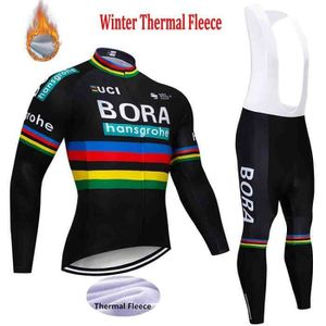 TENUE DE CYCLISME BORA Hiver molleton thermique de cyclisme pour les