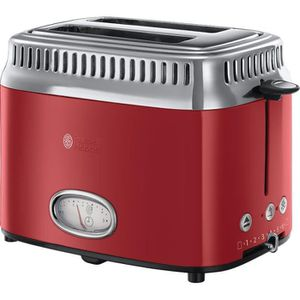 GRILLE-PAIN - TOASTER RUSSELL HOBBS 21680-56 - Toaster Retro - 2 fentes
